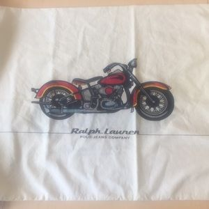 Ralph Lauren Motorcycle Pillowcase